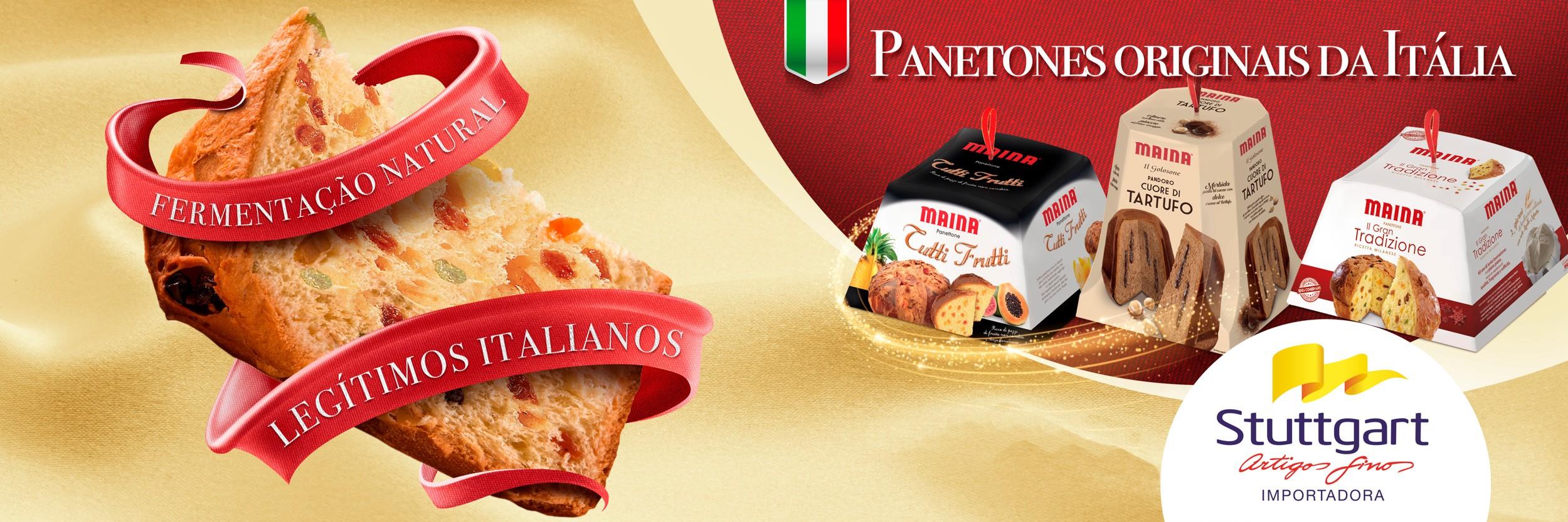 Panetones italianos