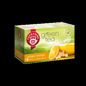 Teekanne - Chá Verde c Gengibre e Laranja (20 saquinhos) 35g
