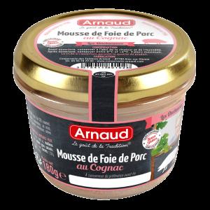 Arnaud - Patê de Fígado Suíno com Conhaque 180g