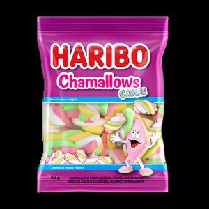 Haribo - Marshmallows Chamallows Cables 80g