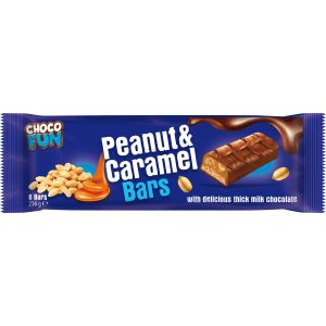 Choco Fun - Choco Fun Peanut Caramel (6x36g) 216g