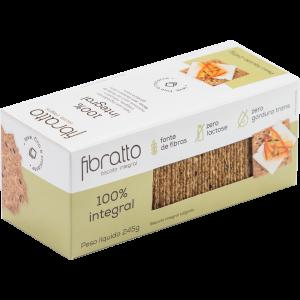 Fibratto - Biscoito 100% Integral 245g