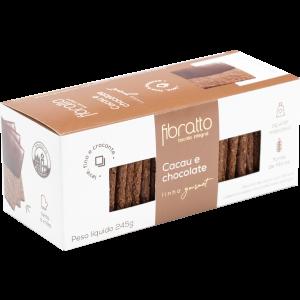 Fibratto - Biscoito Cacau e Chocolate 245g