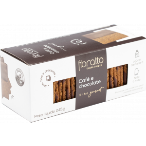 Fibratto - Biscoito Café e Chocolate 245g