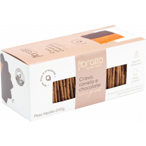 Fibratto - Biscoito Cravo Canela e Chocolate 245g