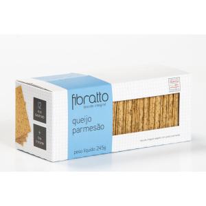 Fibratto - Biscoito Fibratto de Queijo Parmesão 245g
