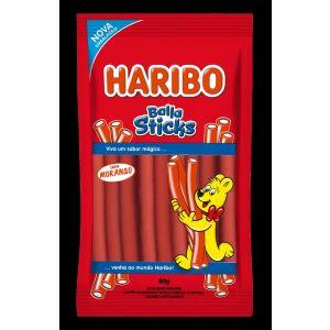Haribo - Balas Sticks Morango 80g