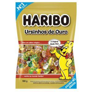 Haribo - Balas Ursinhos de Ouro 100g