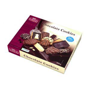 Lambertz - Biscoitos Sortidos c Chocolate Cookies 500g