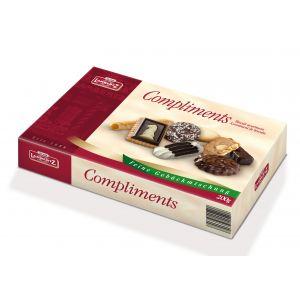 Biscoitos Sortidos c/ Chocolate Compliments 200g - Lambertz