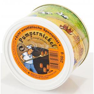 Modersohns - Pão Preto Pumpernickel Original em Lata 250g