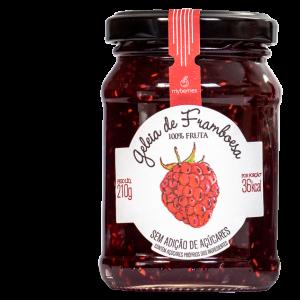 Myberries - Geleia de Framboesa Só Fruta 210g