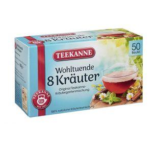Teekanne - Chá 8 Ervas (50 saquinhos) 100g