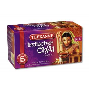 Chá Preto Chai Indiano (20 saquinhos) 40g - Teekanne