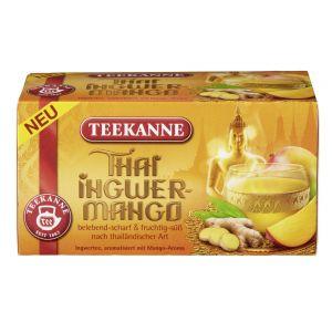 Teekanne - Chá de Gengibre e Manga Thai (20 saquinhos) 45g